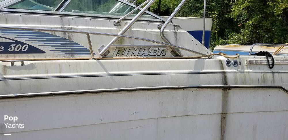 1990 Rinker boat for sale, model of the boat is 300 Fiesta Vee & Image # 34 of 40