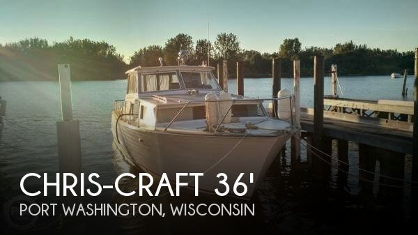Used Boats For Sale in Milwaukee, Wisconsin by owner | 1966 Chris-Craft 36