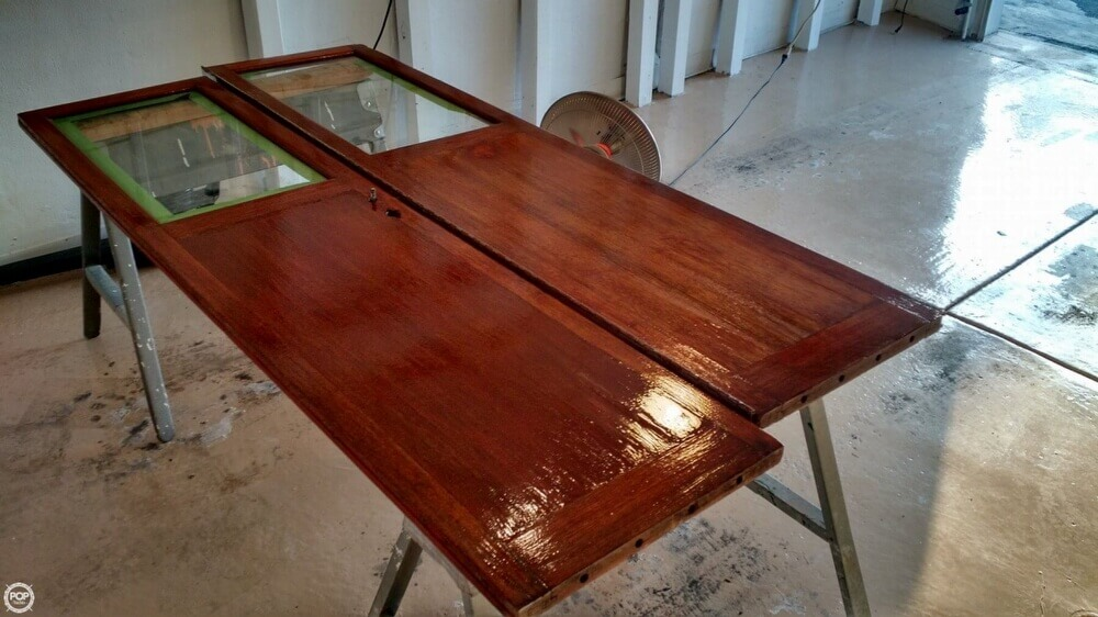 ****** Cabin Doors Being Repaired / Refinished - February 2016******