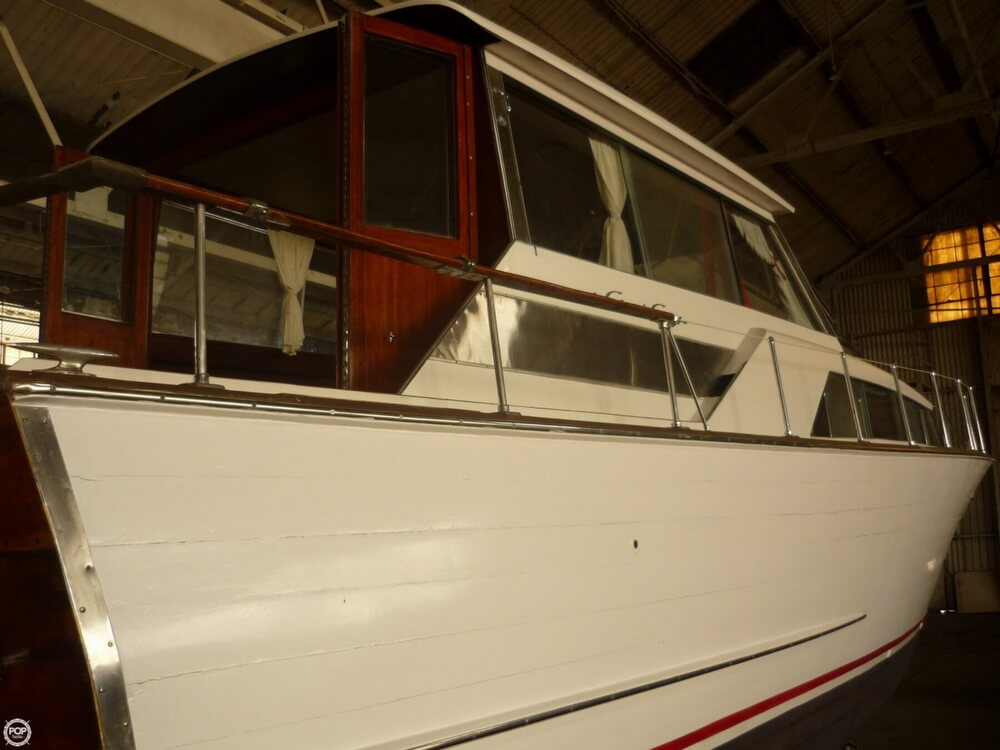 1966 Chris Craft boat for sale, model of the boat is Constellation Hard Top & Image # 37 of 40