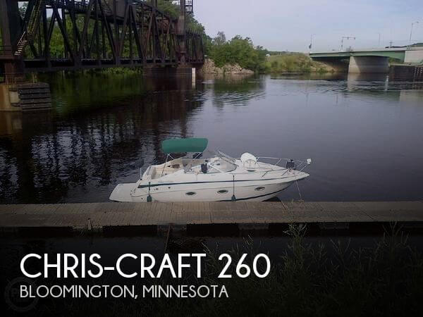 Used Boats For Sale in Rochester, Minnesota by owner | 1999 Chris-Craft 25