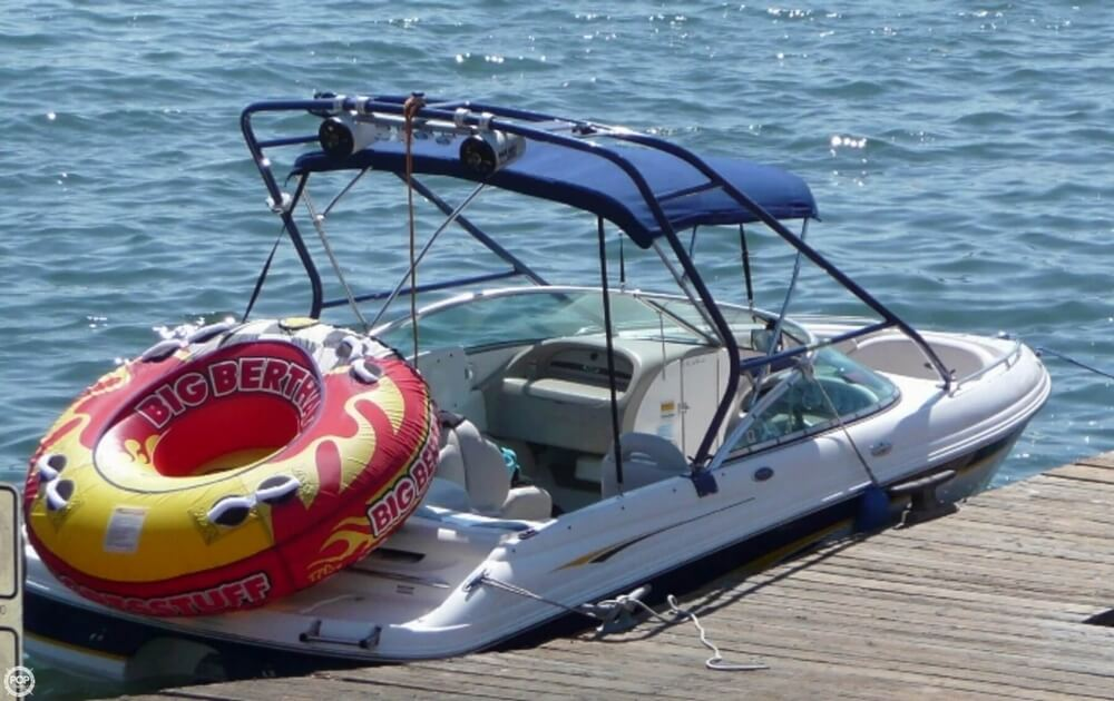 2001 Chaparral boat for sale, model of the boat is 196 SSi & Image # 4 of 40