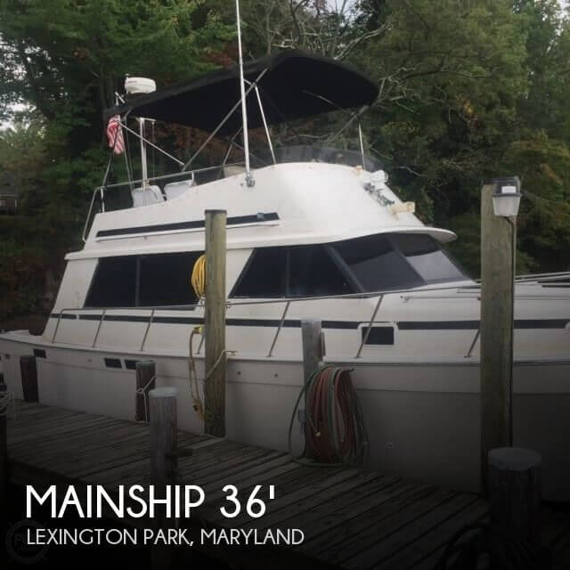 Used Motoryachts For Sale in Maryland by owner | 1987 Mainship 36