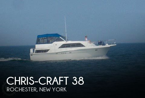 Used Chris-Craft Boats For Sale in New York by owner | 1988 Chris-Craft 38
