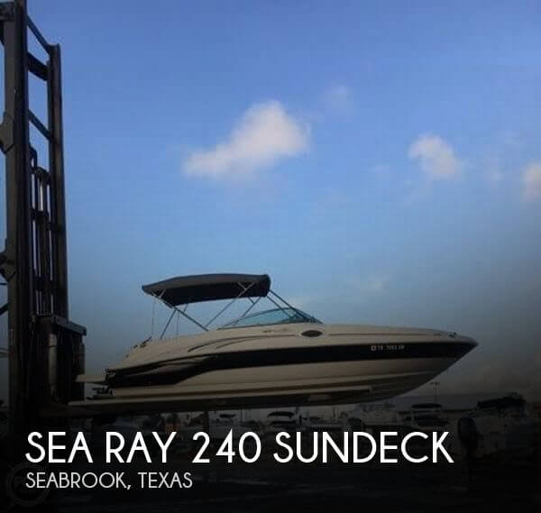 Used Sea Ray 240 sundeck Boats For Sale by owner | 2004 Sea Ray 240 Sundeck
