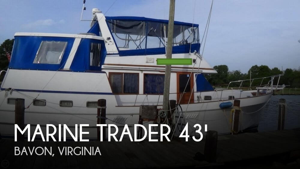 1986 MARINE TRADER 43 TRAWLER for sale