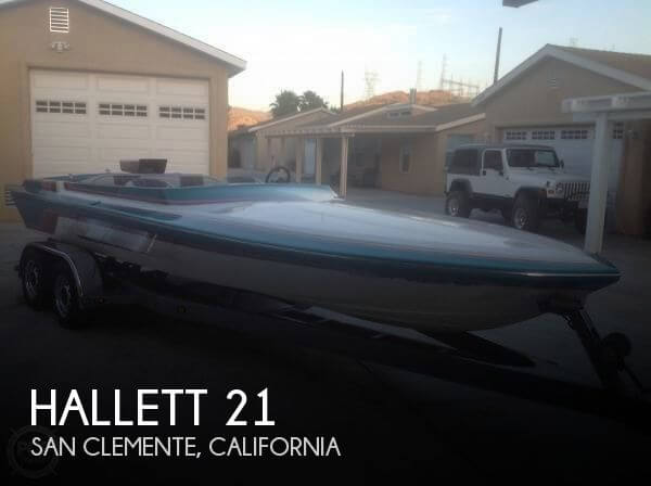 1994 HALLETT 21 for sale