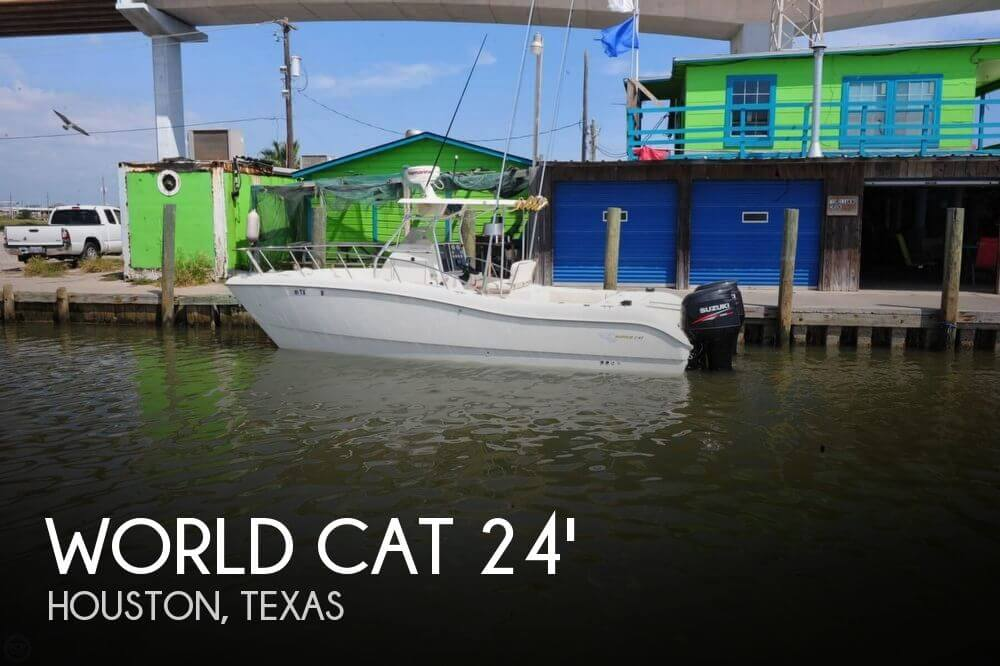 1998 WORLD CAT 246 SPORT FISH for sale