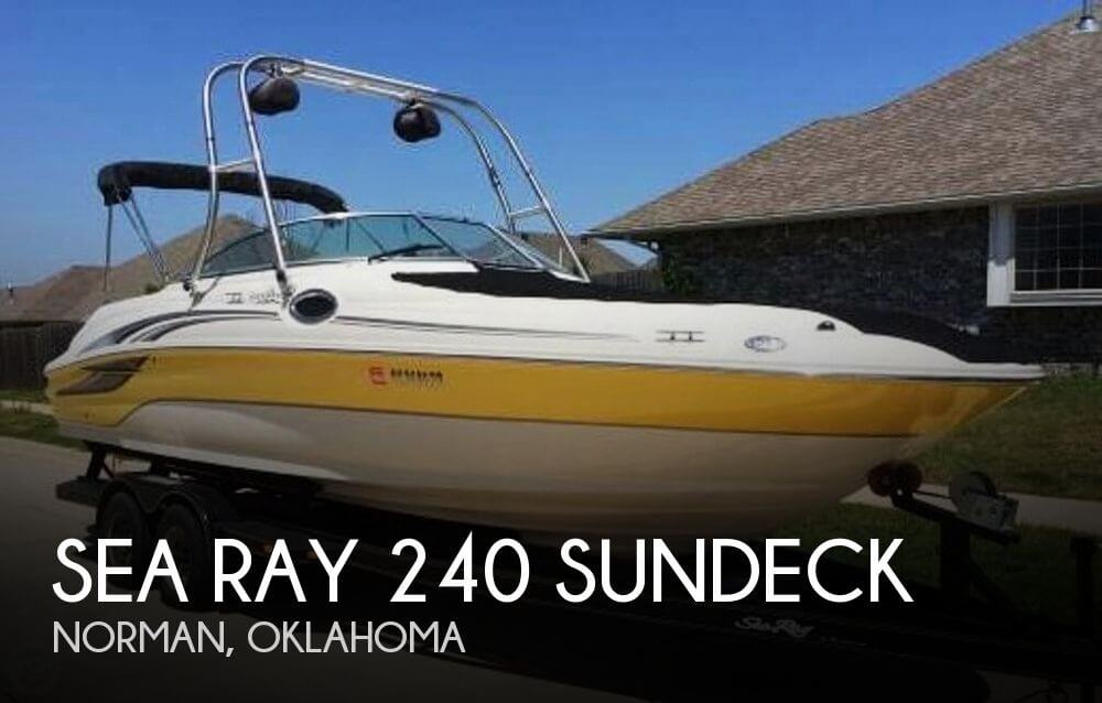 2003 Sea Ray 240 Sundeck - Photo #1
