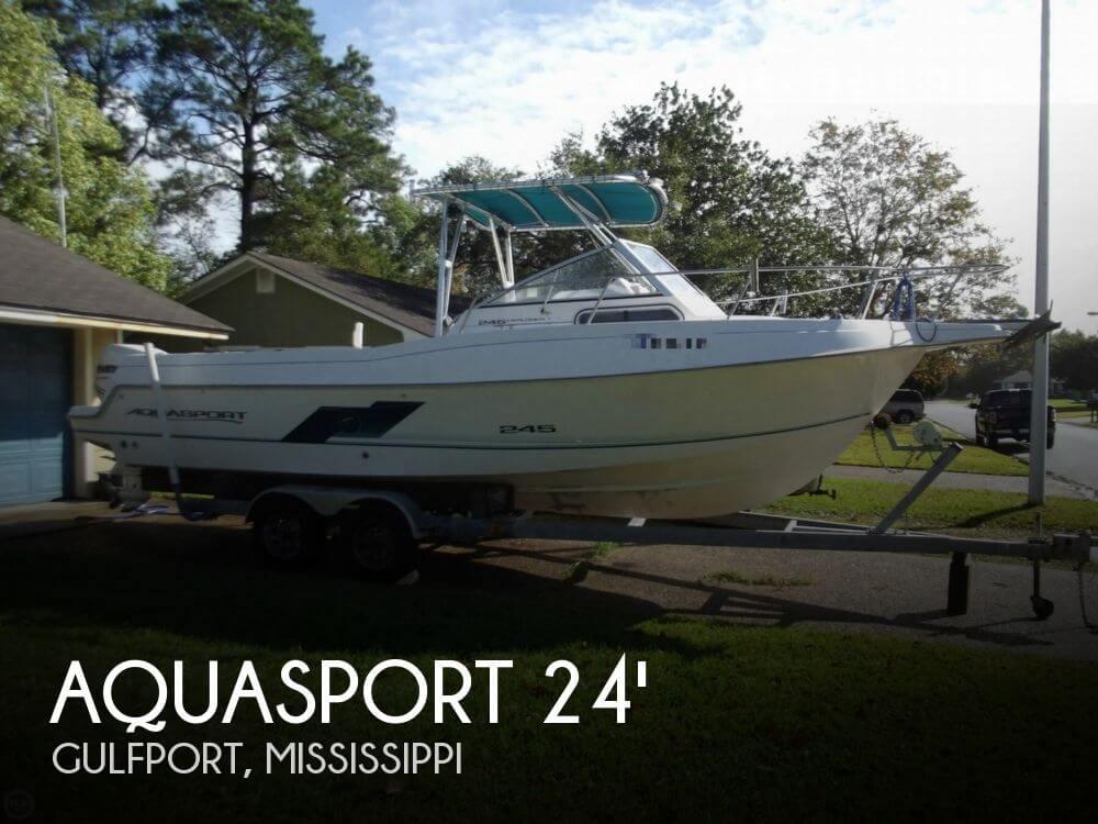 1997 Aquasport 245 Explorer - Photo #1