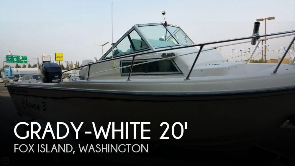 1990 Grady-White 204 Overnighter - Photo #1