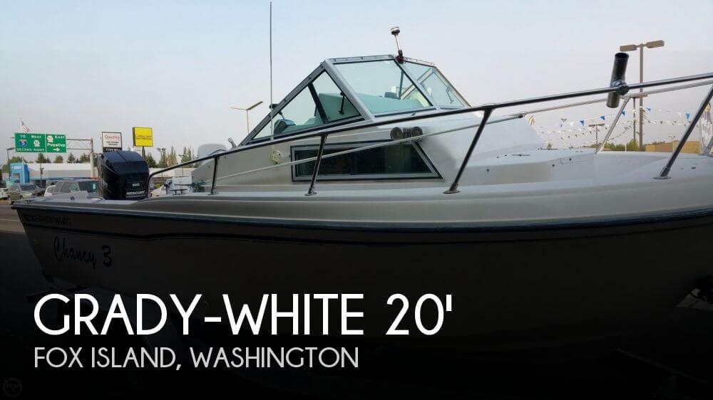 Grady white 204 overnighter for sale in fox island wa for for Grady white fishing boats