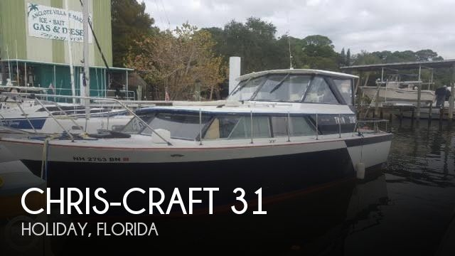 Used Motoryachts For Sale in Texas by owner | 1969 Chris-Craft 31