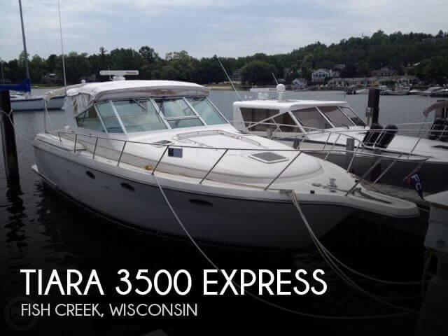 1996 Tiara 3500 Express - Photo #1