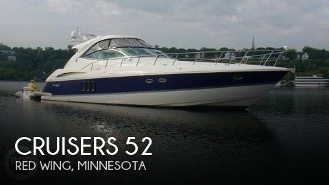 Used Boats For Sale in Rochester, Minnesota by owner | 2005 Cruisers 52