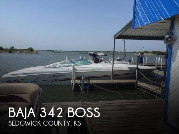 Used Boats For Sale in Kansas by owner | 1999 Baja 342 Boss