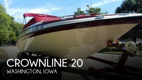 Used Boats For Sale in Cedar Rapids, Iowa by owner | 2004 Crownline 20