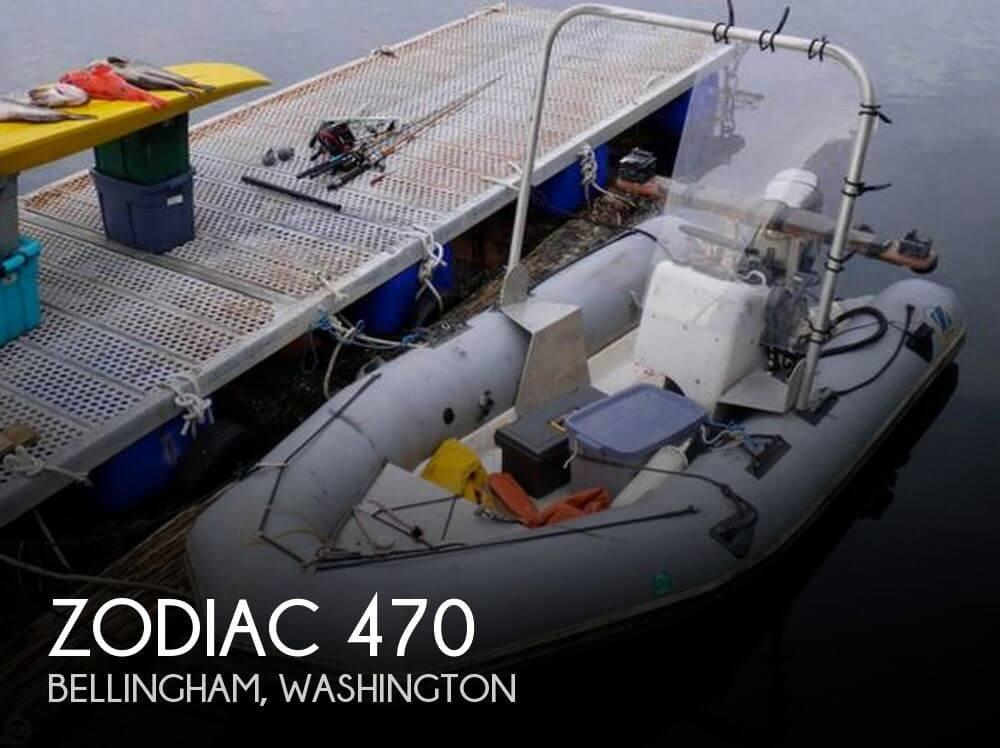 1993 ZODIAC 470 for sale