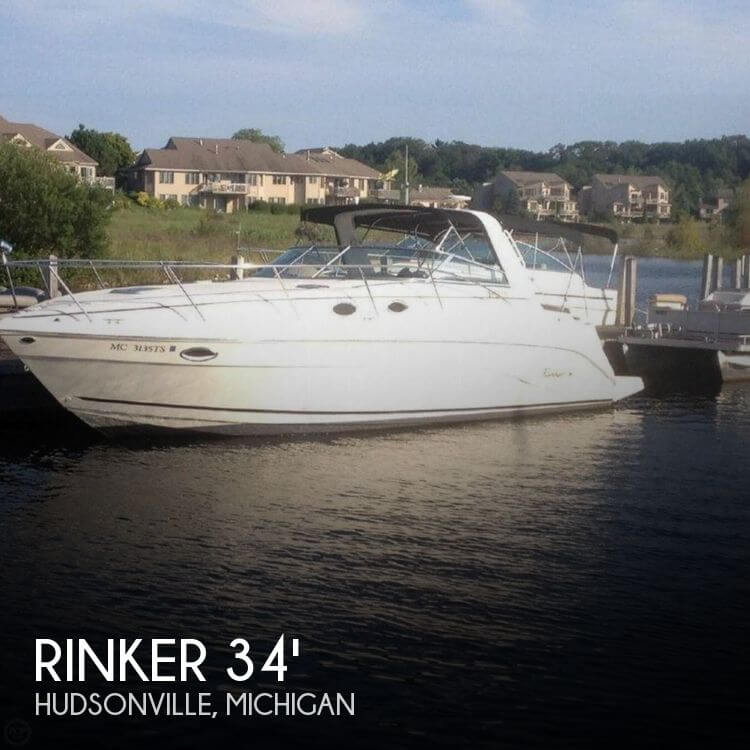 Used Boats For Sale in Grand Rapids, Michigan by owner | 2002 Rinker 34