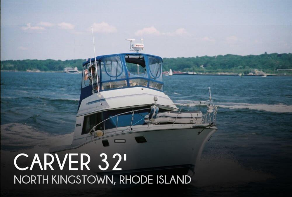 1988 Carver 3227 Convertible - Photo #1