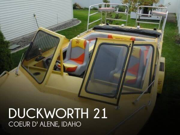 Used Boats For Sale in Spokane, Washington by owner | 1995 Duckworth 21