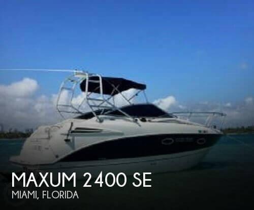 2007 Maxum 2400 SE - Photo #1