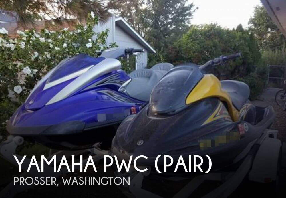 2007 YAMAHA PWC (PAIR) for sale