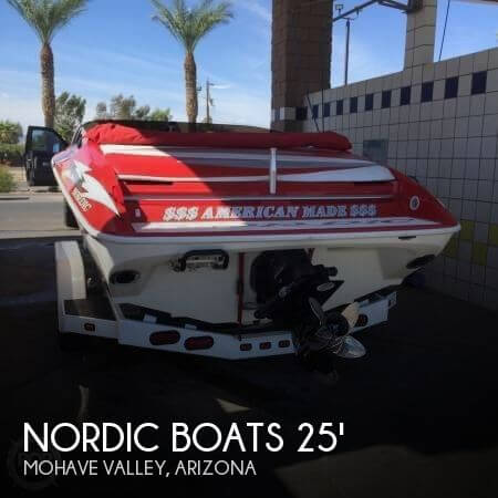 2005 Nordic Tugs boat for sale, model of the boat is Rage Open Bow 25 & Image # 1 of 10