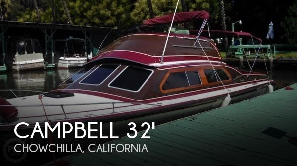 Used Boats For Sale in Merced, California by owner | 1978 Campbell 32