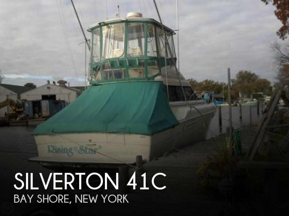 Used Fishing boats For Sale in New York by owner | 1993 Silverton 41