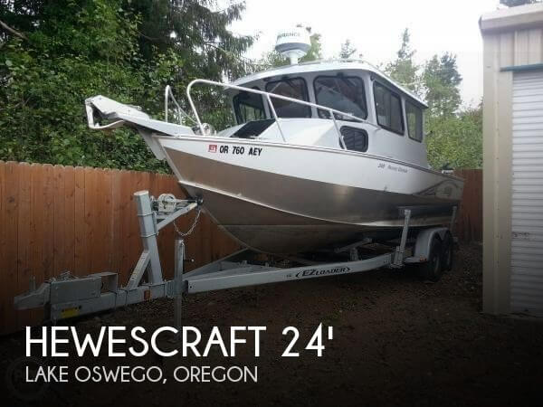 Used Boats For Sale in Salem, Oregon by owner | 2014 Hewescraft 240 Pacific Cruiser
