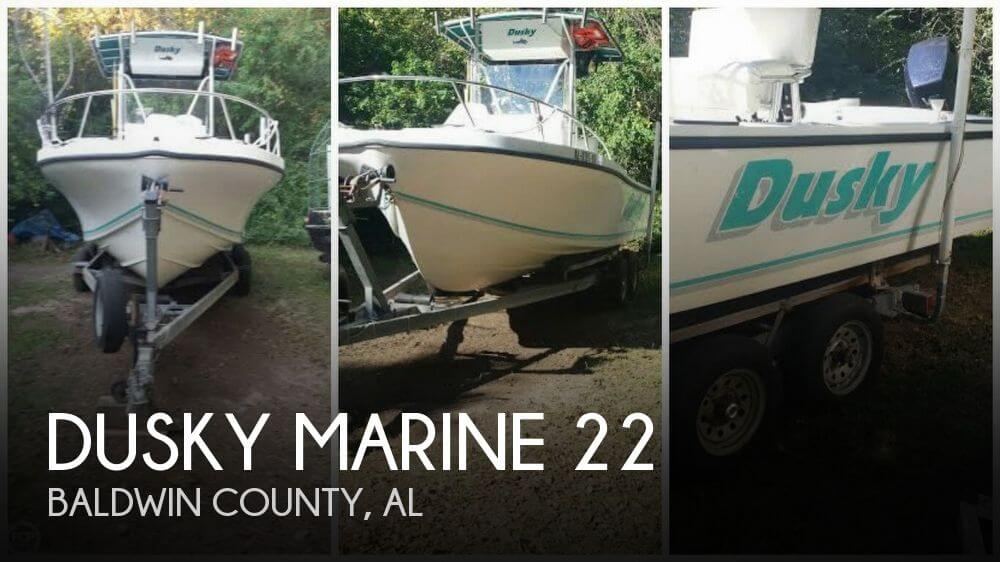 Used Dusky Marine Boats For Sale by owner | 1994 Dusky Marine 22