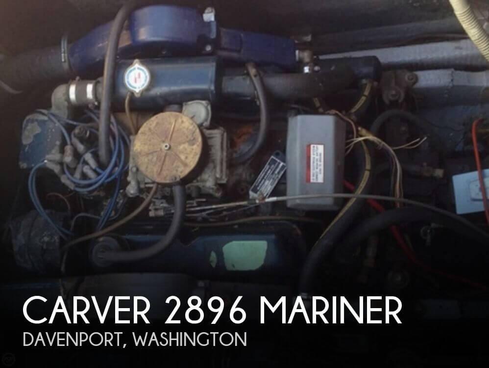 1977 CARVER 2896 MARINER for sale