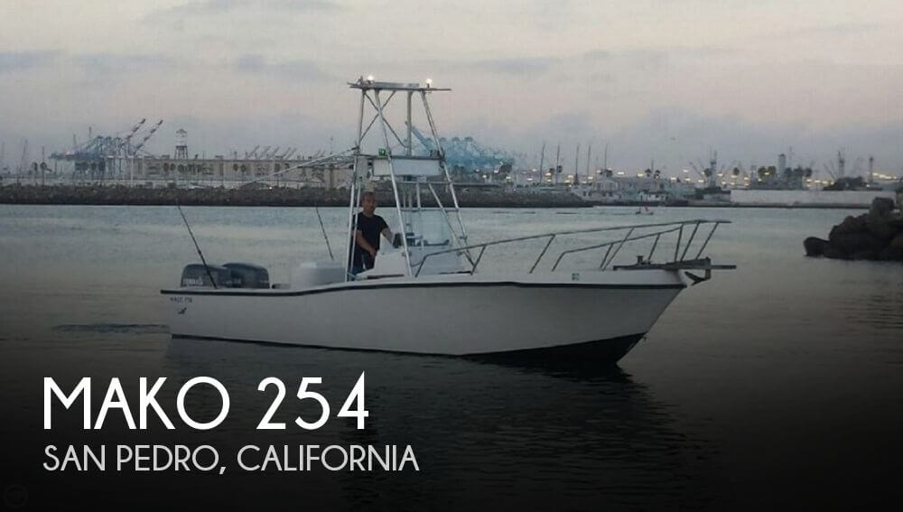 Canceled mako 254 boat in san pedro ca 092832 for Fishing boats for sale san diego