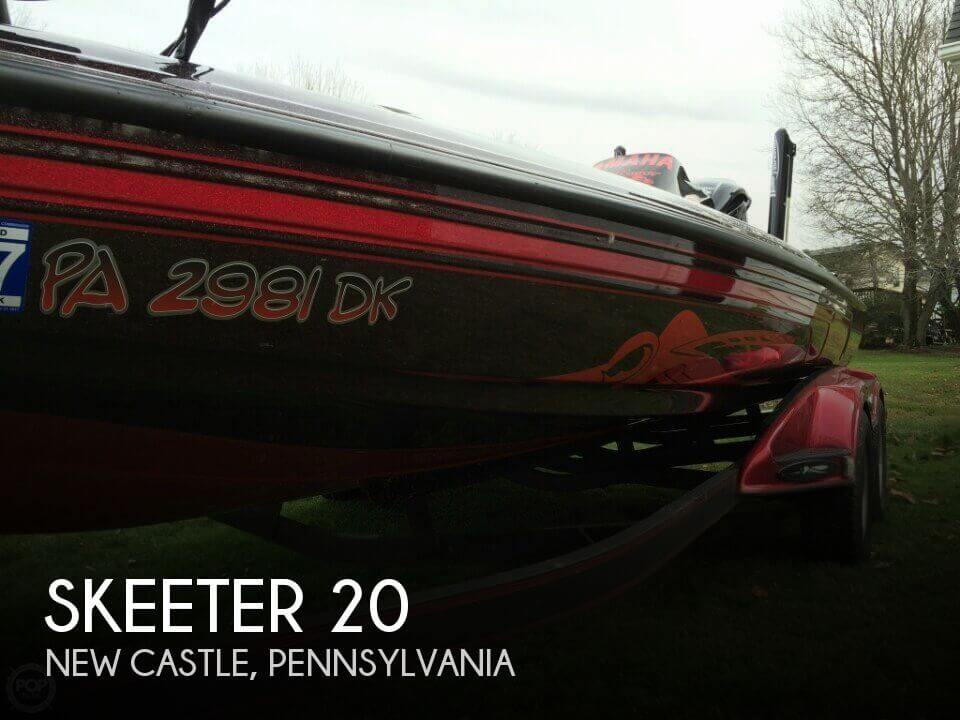 Used Boats For Sale in Canton, Ohio by owner | 2013 Skeeter 20