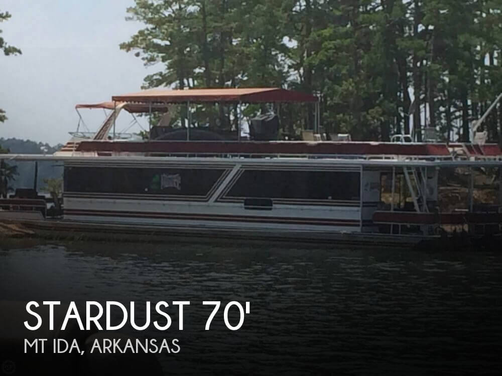 1990 Stardust Cruiser 70x14 Houseboat - Photo #1