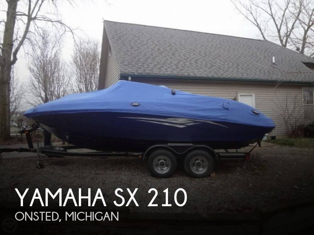 2011 Yamaha SX 210 - Photo #1