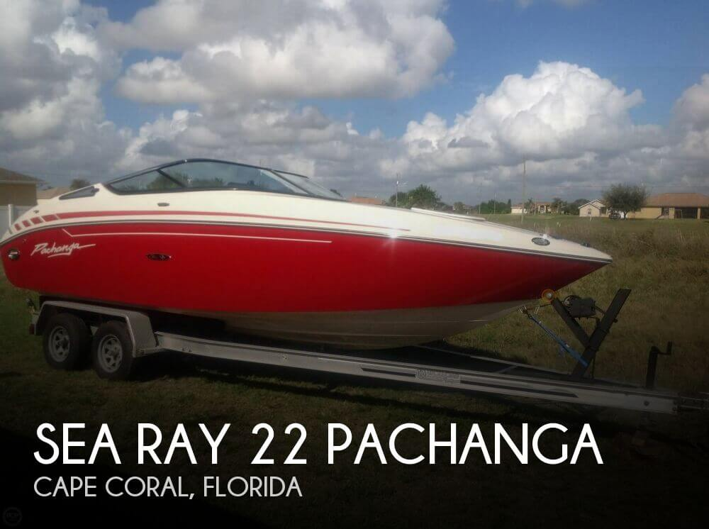 2009 SEA RAY 22 PACHANGA for sale