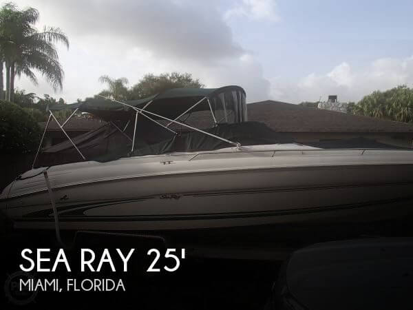 Used Sea Ray 25 Boats For Sale by owner | 2001 Sea Ray 25