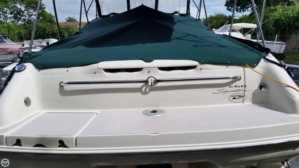 2001 Sea Ray boat for sale, model of the boat is 260 Signature & Image # 10 of 40