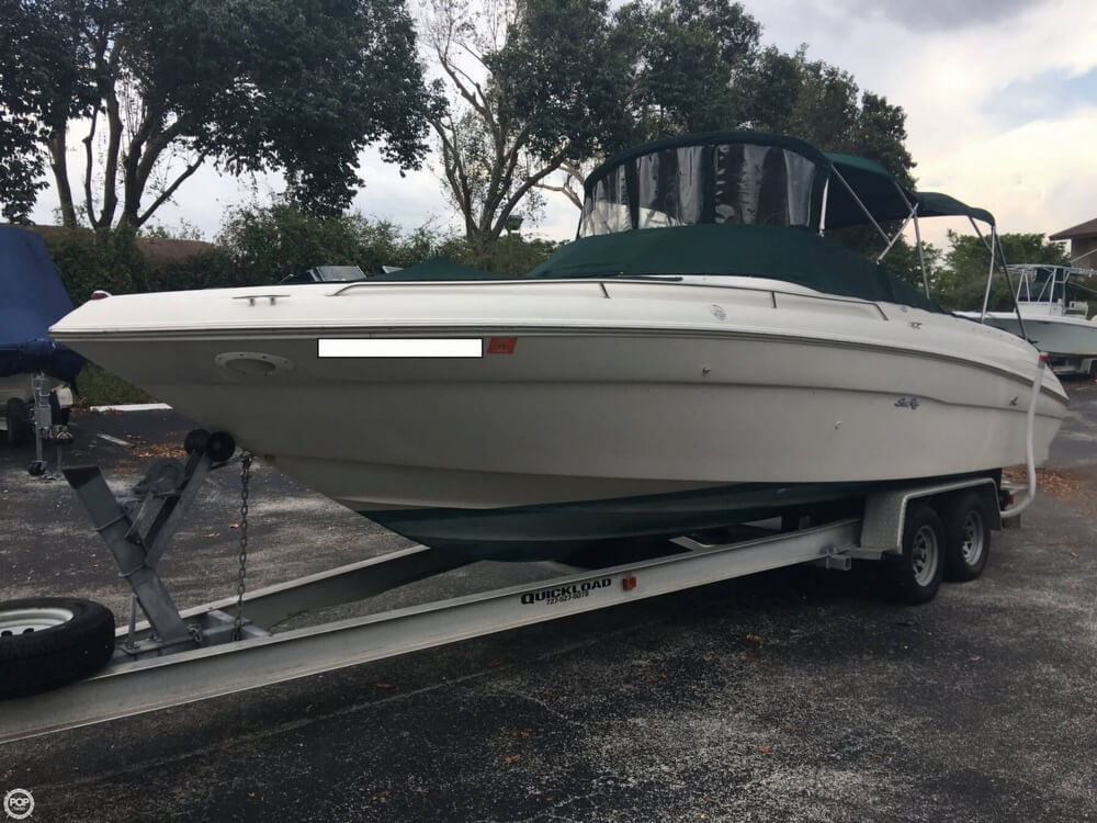 2001 Sea Ray boat for sale, model of the boat is 260 Signature & Image # 9 of 40