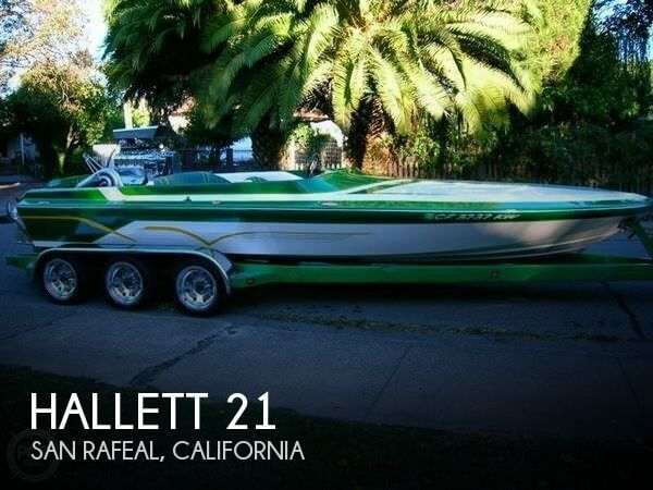 Used Hallett Boats For Sale by owner | 1995 Hallett 21