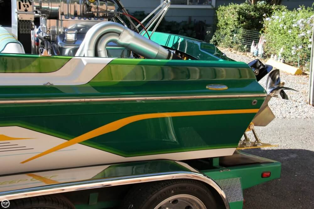 1995 Hallett boat for sale, model of the boat is 21 Vector & Image # 18 of 40