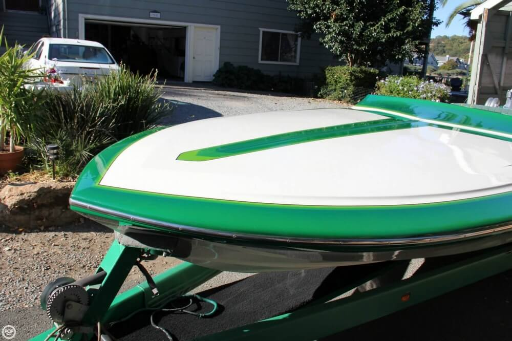 1995 Hallett boat for sale, model of the boat is 21 Vector & Image # 19 of 40