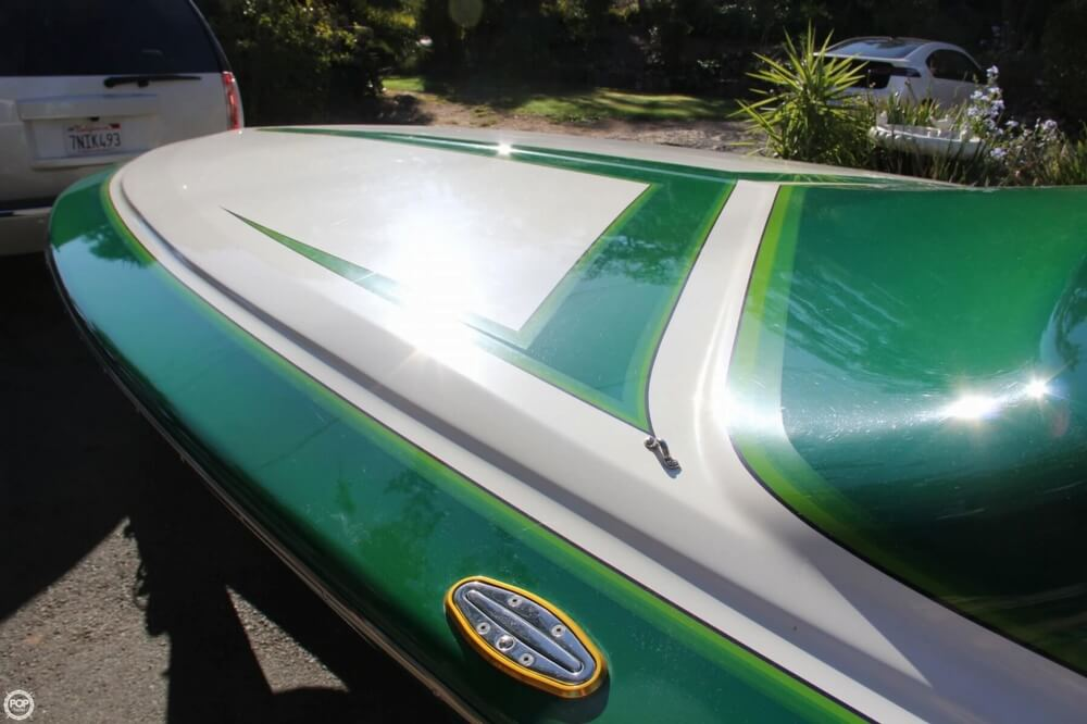 1995 Hallett boat for sale, model of the boat is 21 Vector & Image # 21 of 40