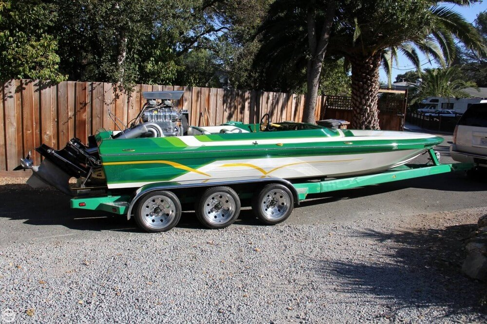 1995 Hallett boat for sale, model of the boat is 21 Vector & Image # 6 of 40