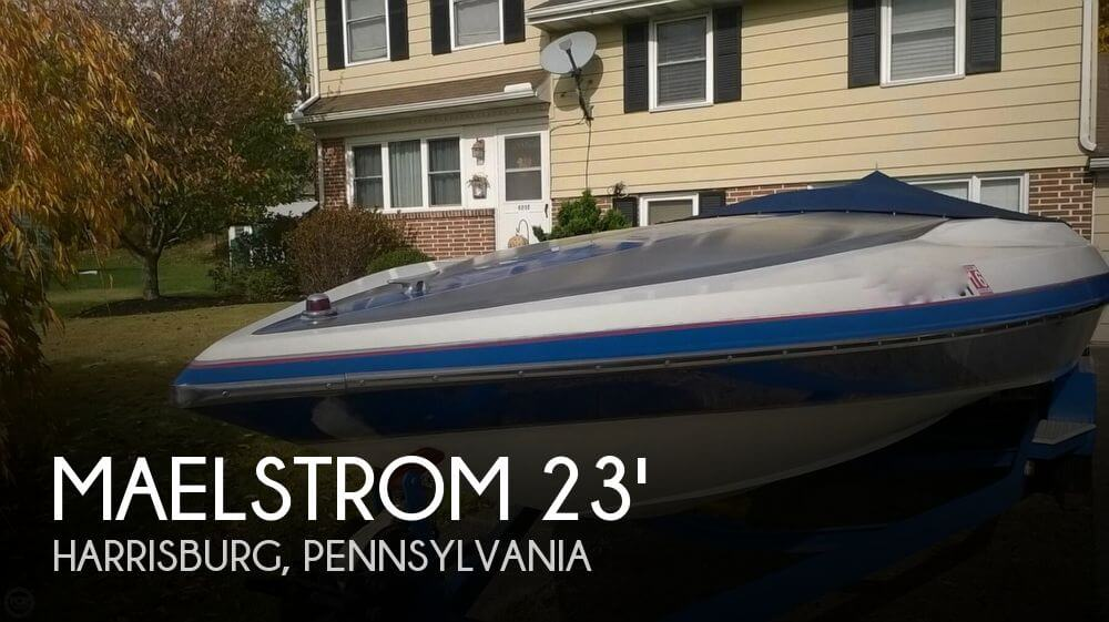 1989 Maelstrom 23 Classic Speed Boat - Photo #1