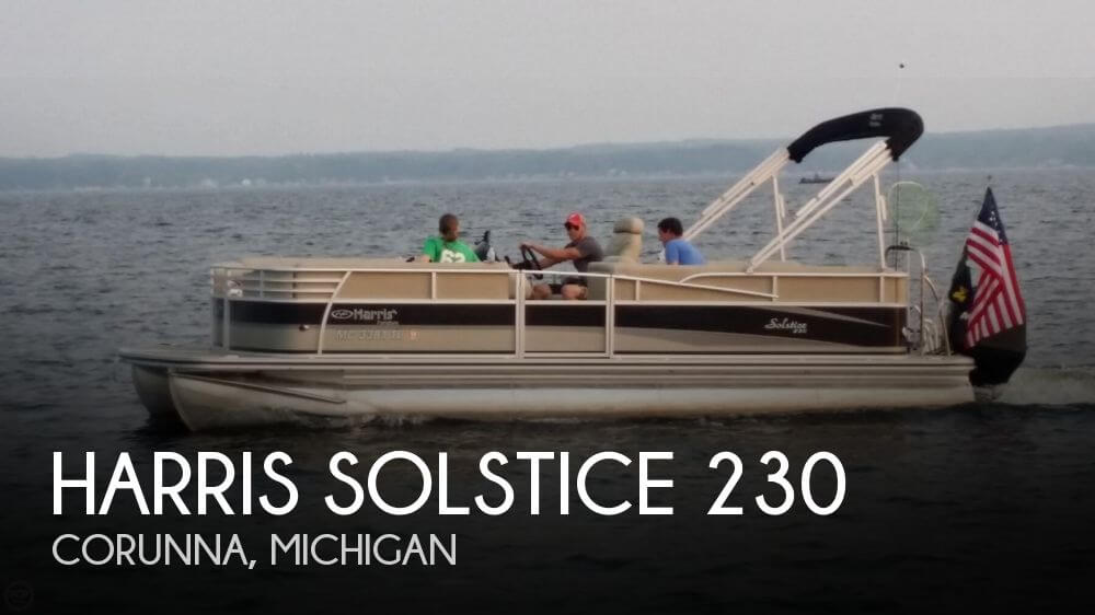 2011 HARRIS SOLSTICE 230 for sale