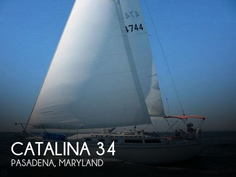 Used Sailboats For Sale in Maryland by owner | 1987 Catalina 34