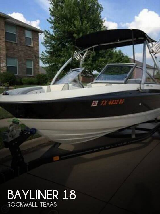 Used Bayliner Boats For Sale in Texas by owner | 2011 Bayliner 18